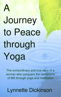 Book cover: Journey to Peace Through Yoga
